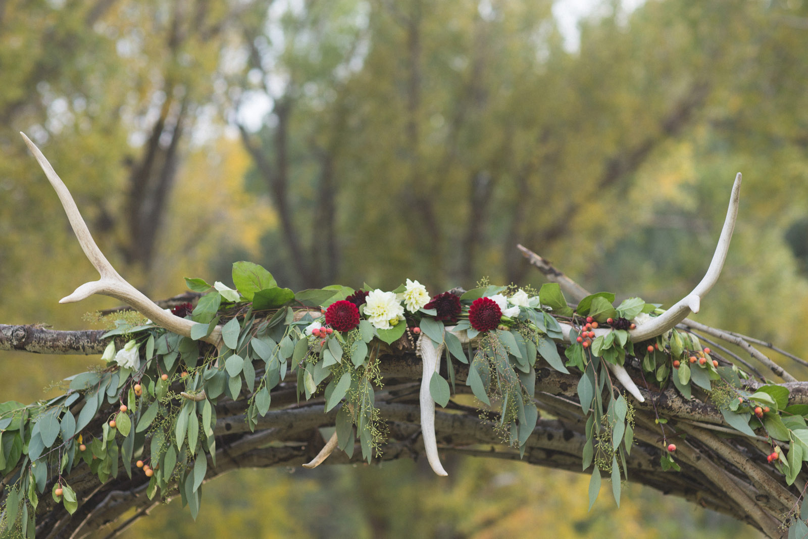 ceremony elements in beautiful southern colorado