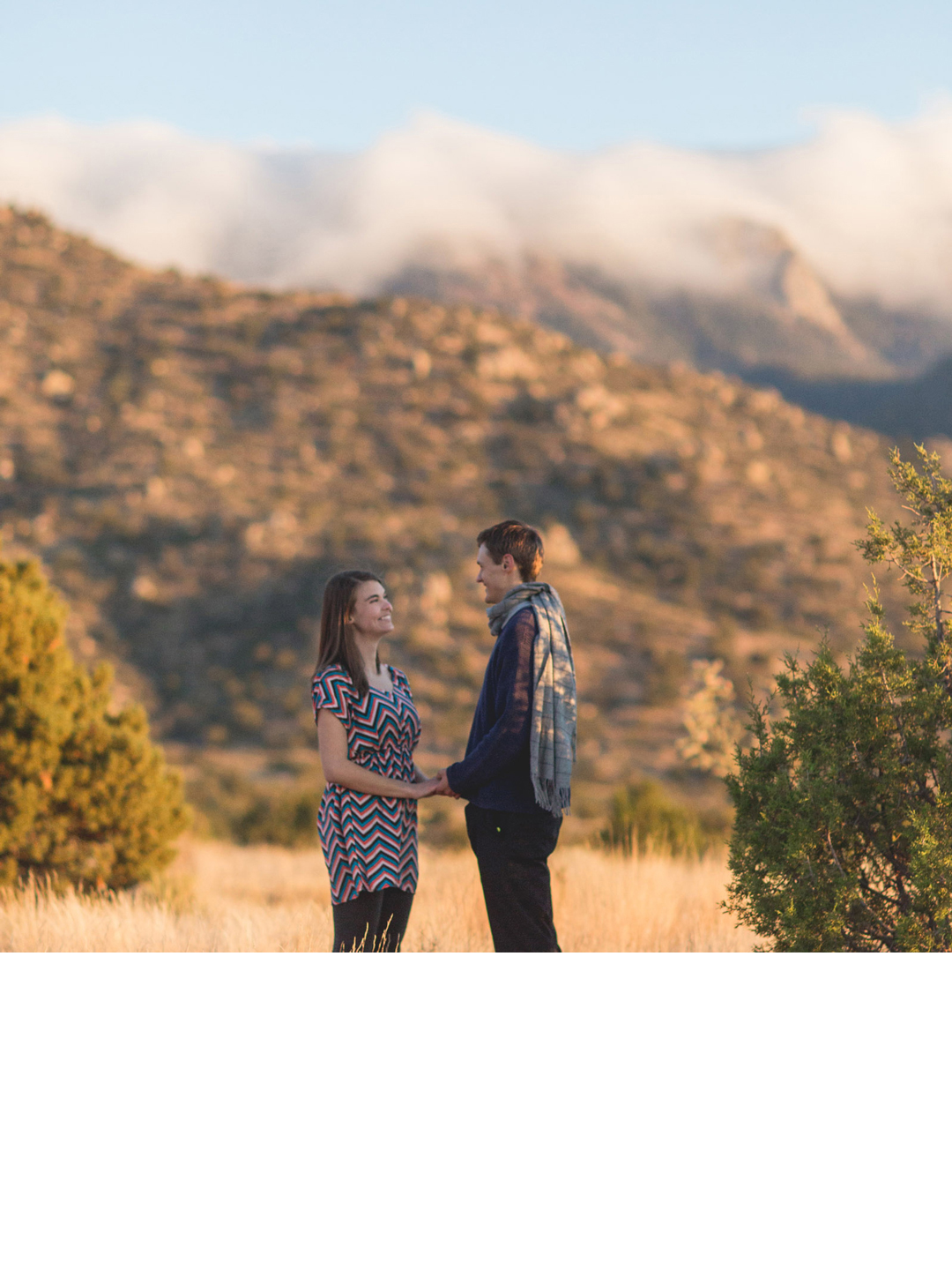 engagement photography in nm